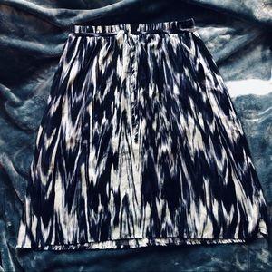 ❤️ Blue lined skirt